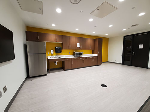 Kitchen of the Health Sciences Education Center