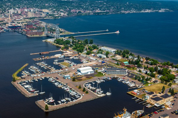 Duluth aerial lift bridge photo