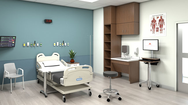 HSEC simulation room rendering