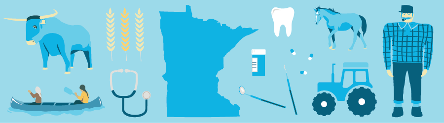 Greater Minnesota impact illustration