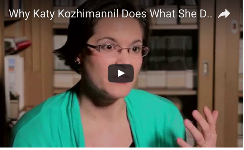 Katy Kozhimannil Why You Do What You Do Video