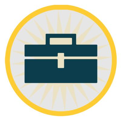 research toolkit icon